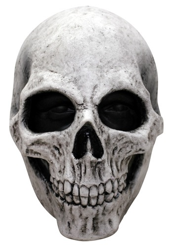 Click Here to buy White Skull Mask from HalloweenCostumes, CDN Funds