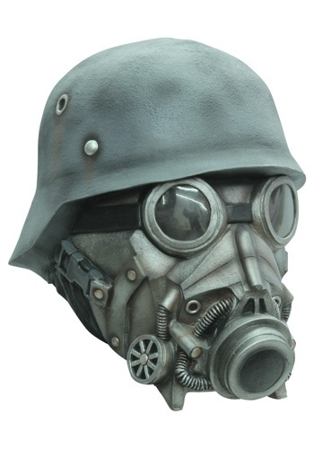Chemical Warfare Mask By: Ghoulish Productions for the 2015 Costume season.