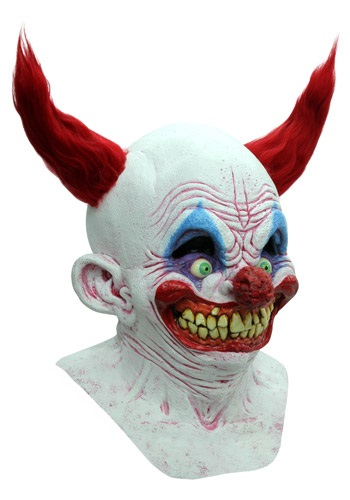 Click Here to buy Chingo the Clown: Costume Mask from HalloweenCostumes, CDN Funds