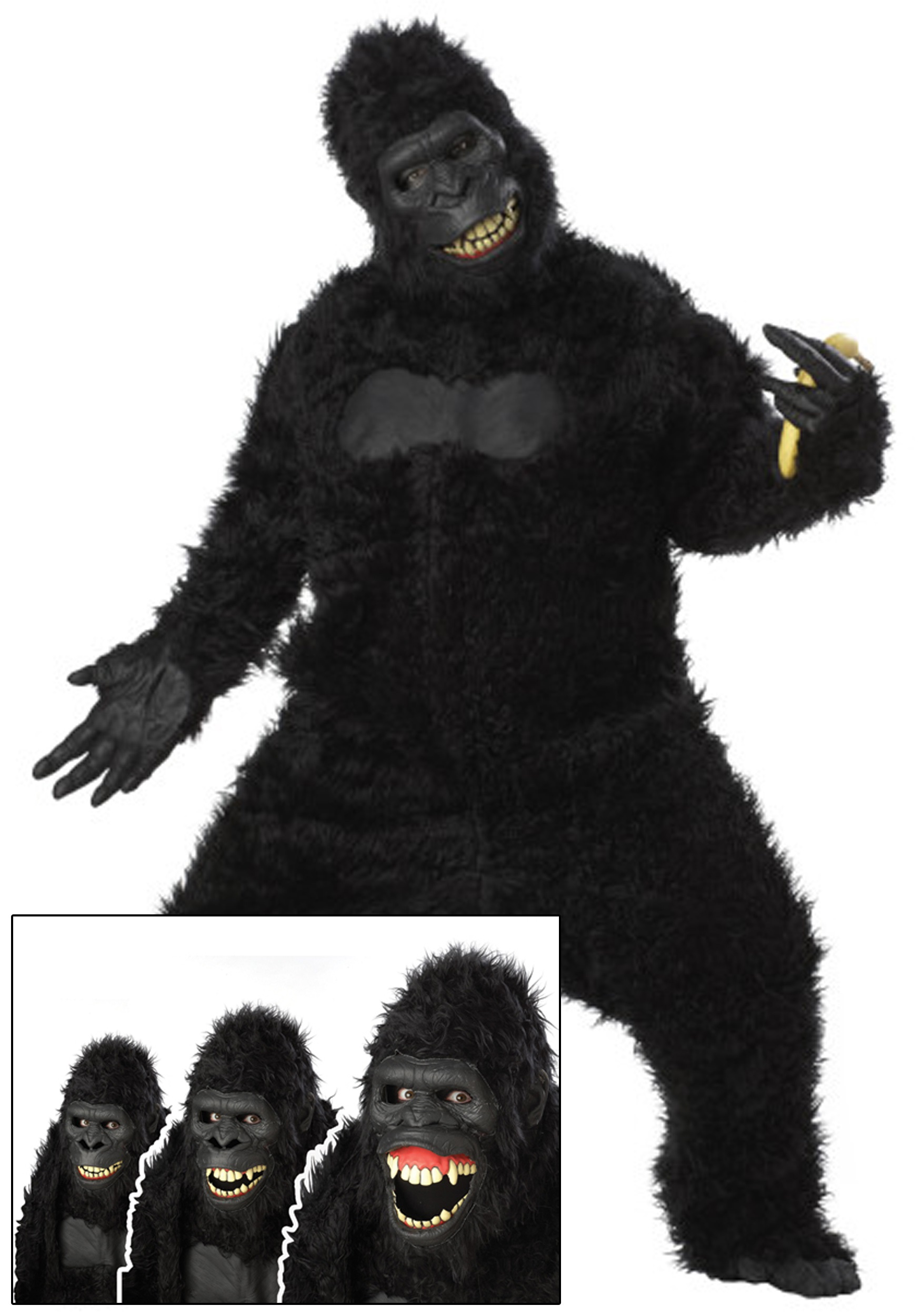 Uncategorized How To Make A Gorilla Costume gorilla costumes suits for kids adults halloweencostumes com adult goin ape costume