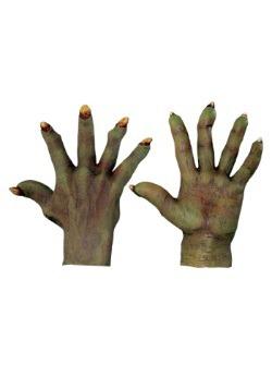 Adult Evil Green Hands