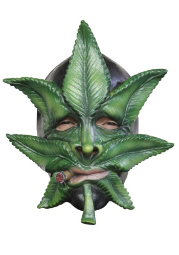 Weed Mask By: Ghoulish Productions for the 2015 Costume season.