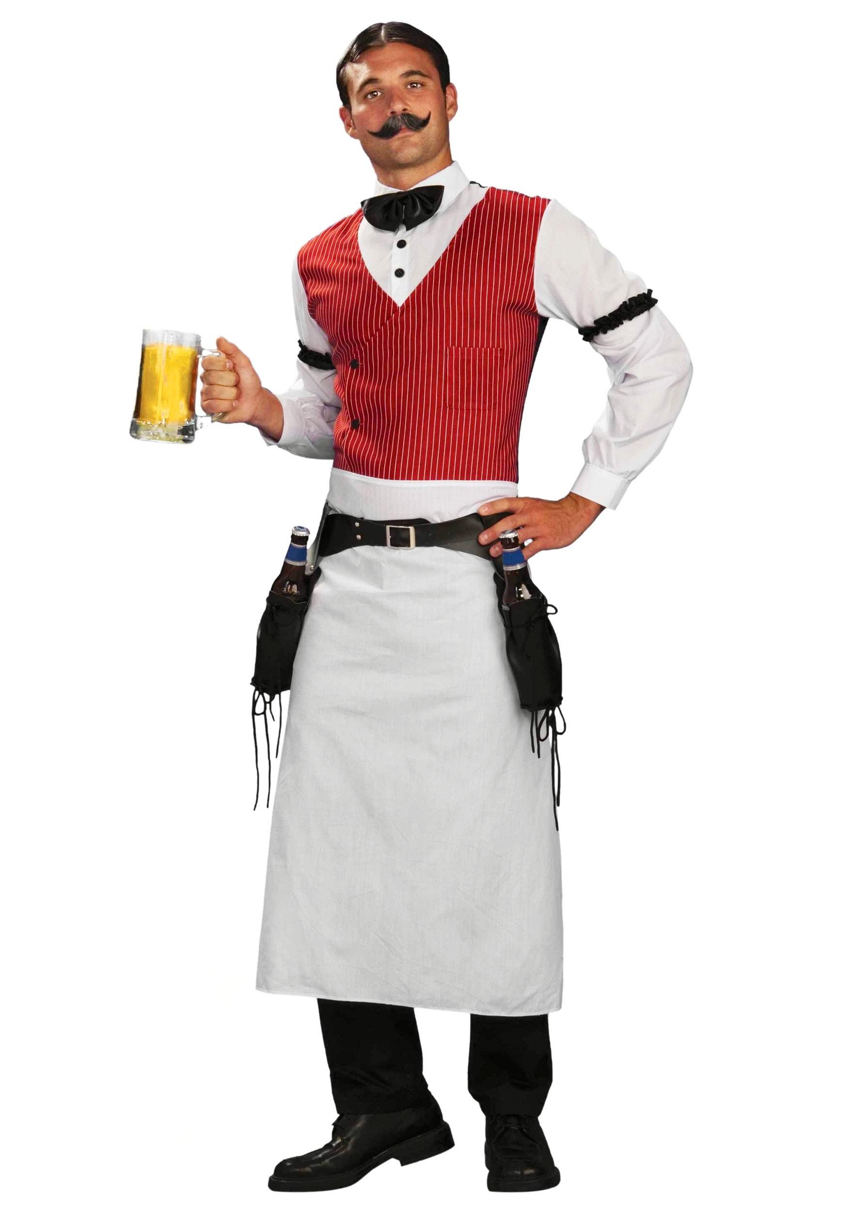 plus size saloon bartender costume. Black Bedroom Furniture Sets. Home Design Ideas