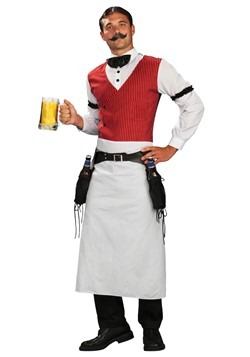 Plus Size Saloon Bartender Costume cc