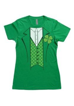 Womens Leprechaun Costume T-Shirt