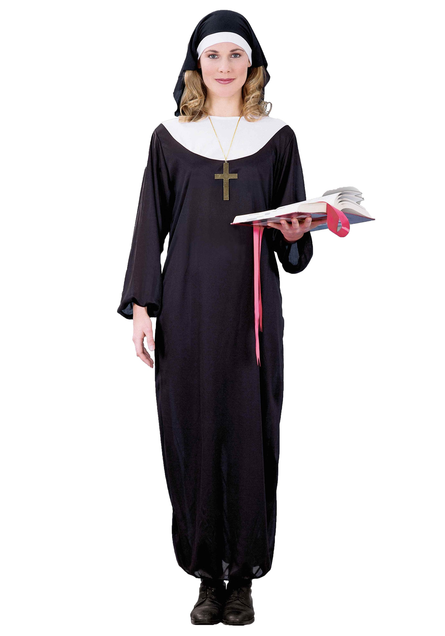 Adult Nun Costume - It Halloween Costume