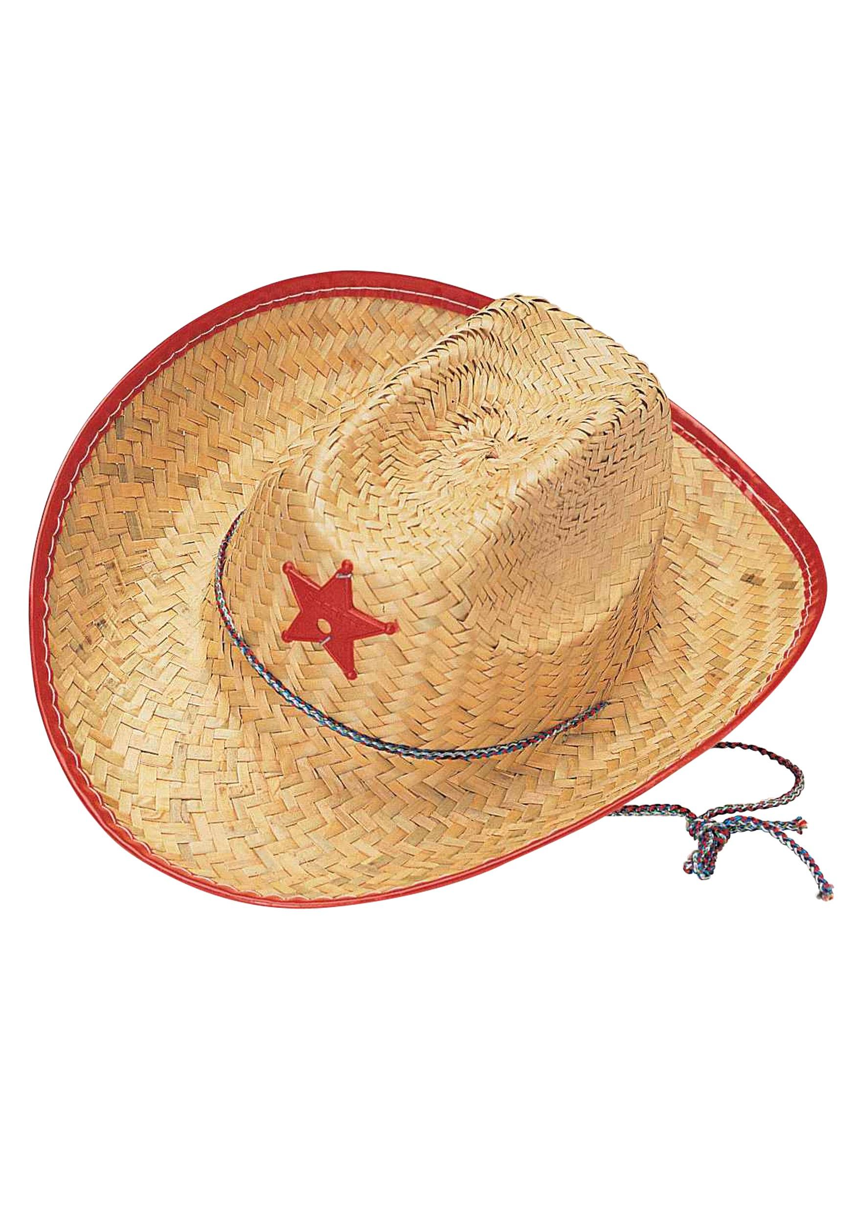 d6bfa5c4 Kids Straw Cowboy Hat