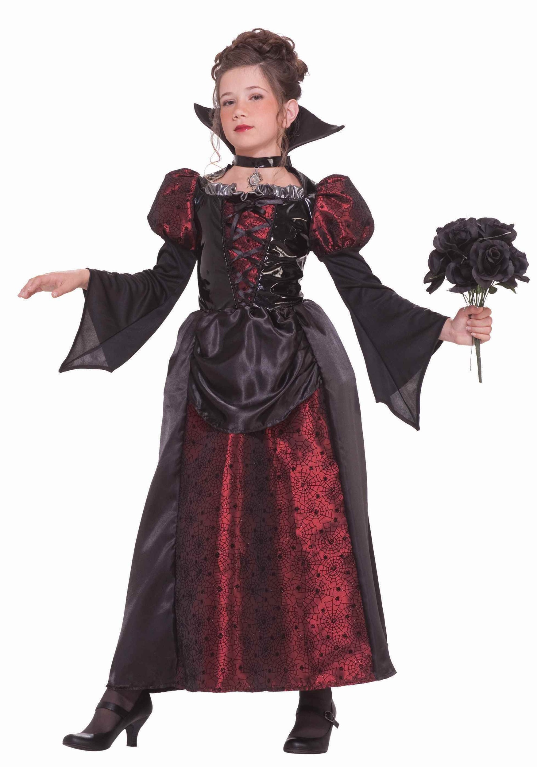 girls vampire miss costume. Black Bedroom Furniture Sets. Home Design Ideas