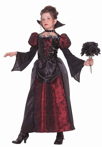 Click Here to buy Girls Vampire Miss Costume from HalloweenCostumes, CDN Funds