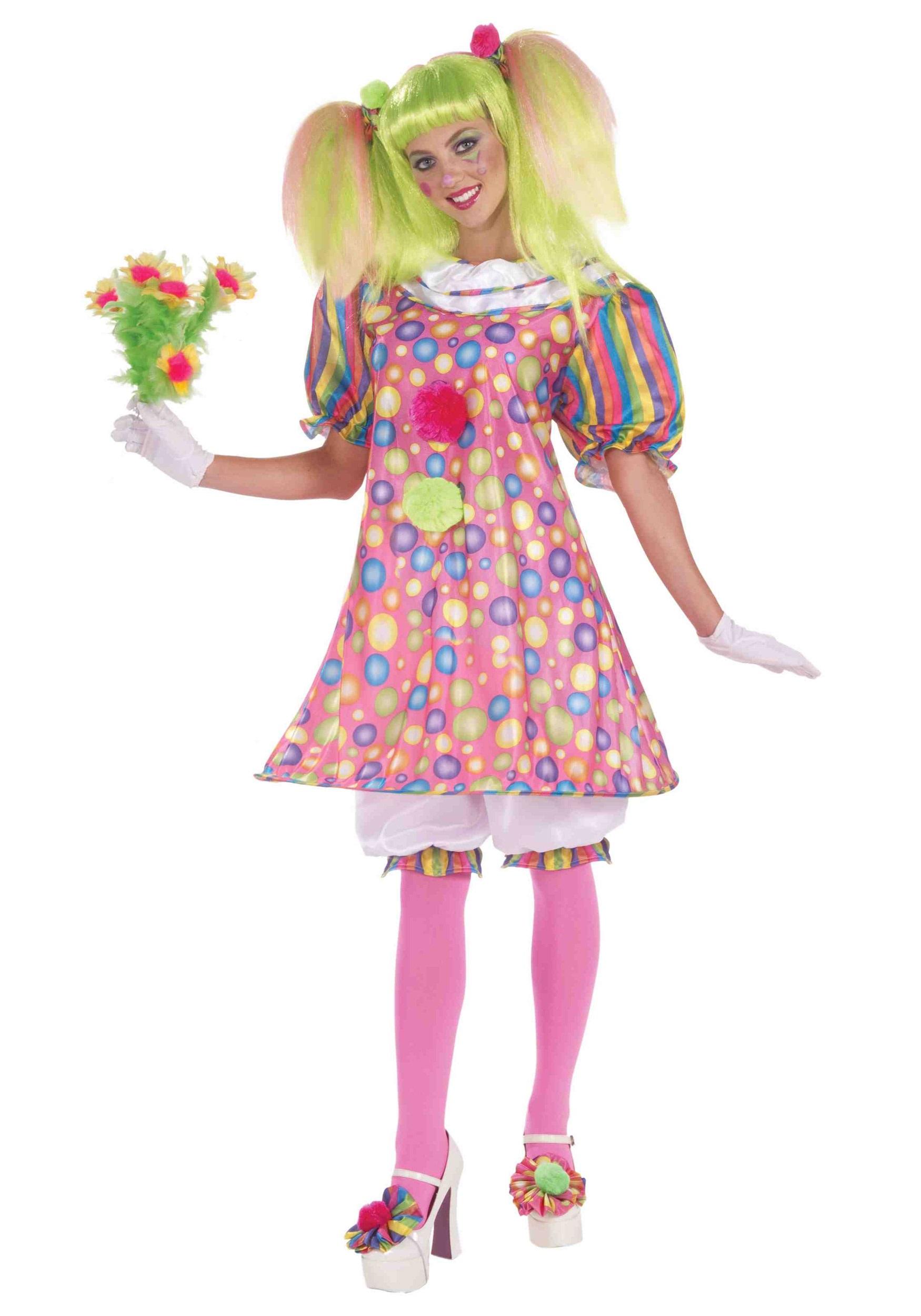 tickles the clown costume - Girl Clown Halloween Costumes
