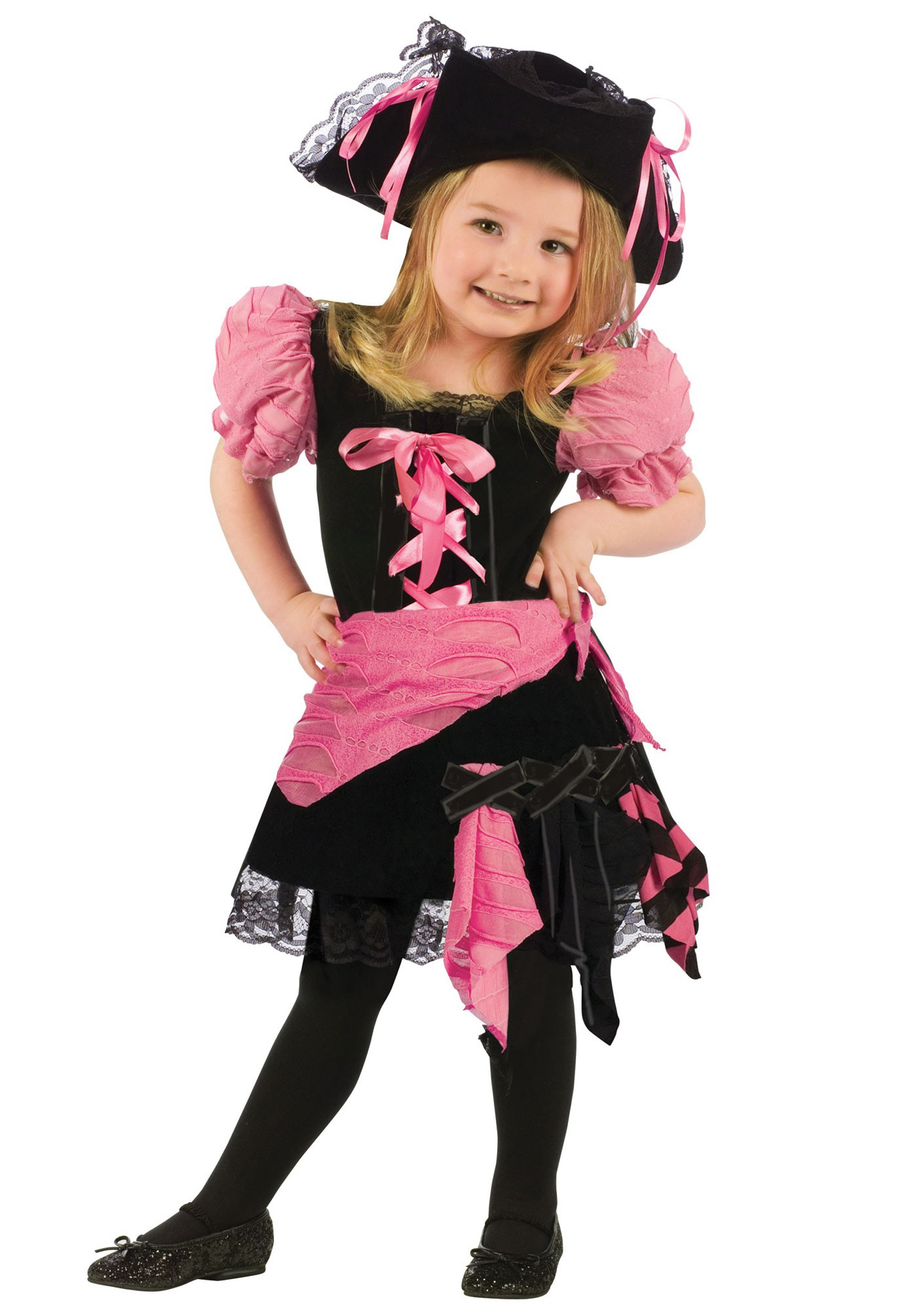 Pink Punk Pirate Costume Toddler Pink Punk Pirate