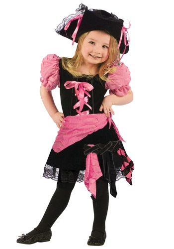 Toddler Pink Punk Pirate Costume By: Fun World for the 2015 Costume season.