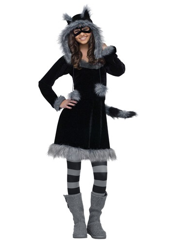 Teen Sweet Raccoon Costume By: Fun World for the 2015 Costume season.