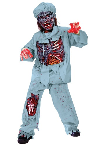Child Zombie Doctor Costume By: Fun World for the 2015 Costume season.