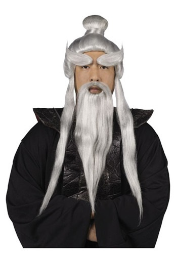 Sensei Wig and Beard Set By: Fun World for the 2015 Costume season.