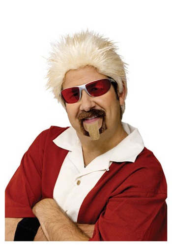 celebrity chef wig and goatee set Celebrity Halloween Costumes