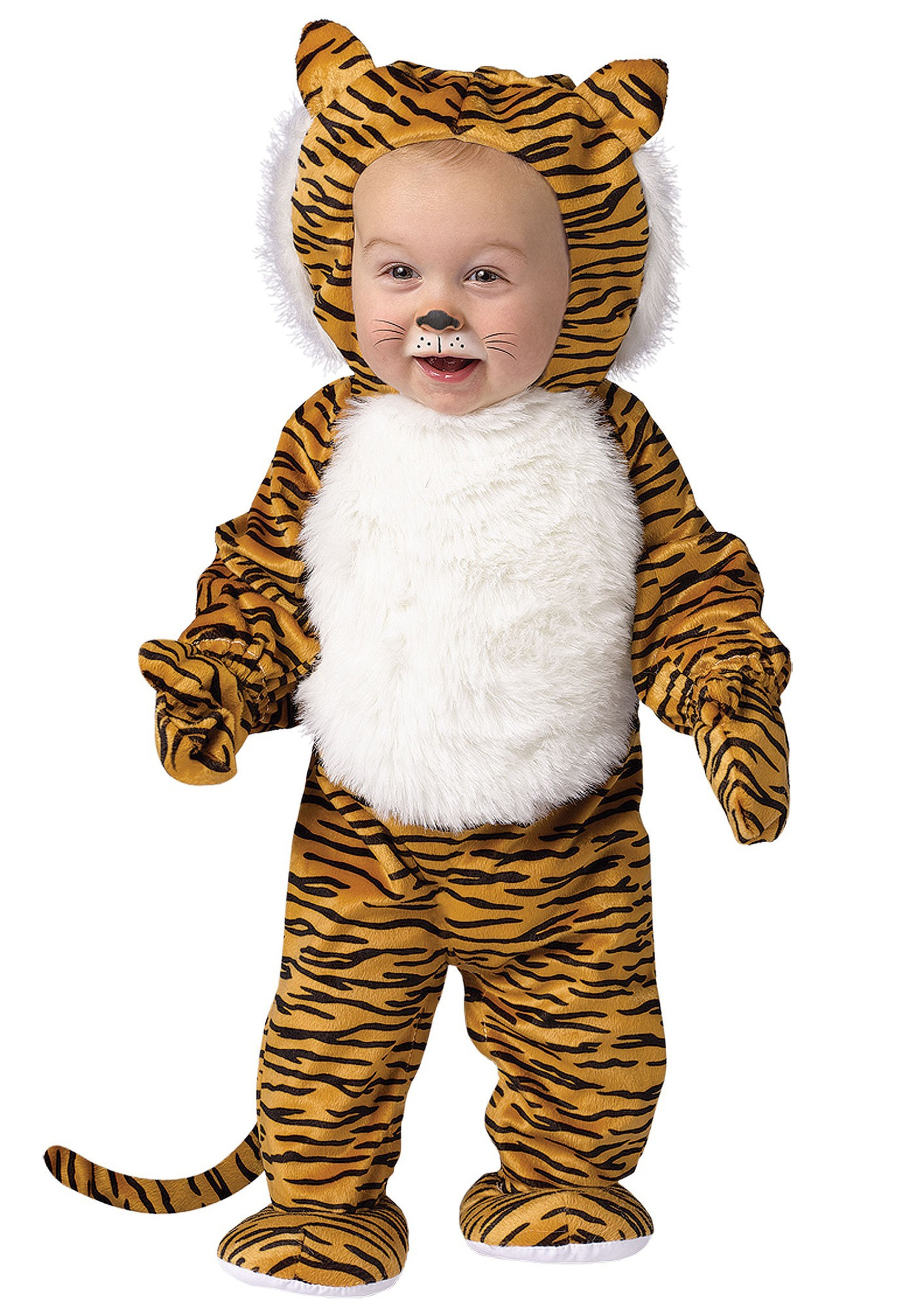 Toddler Cuddly Tiger Costume  sc 1 st  Halloween Costumes : tony the tiger costumes  - Germanpascual.Com