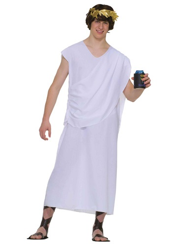 how to make a toga costume male