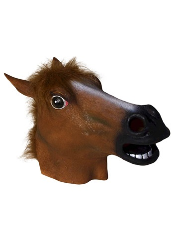 Deluxe Latex Horse Mask By: Forum Novelties, Inc for the 2015 Costume season.
