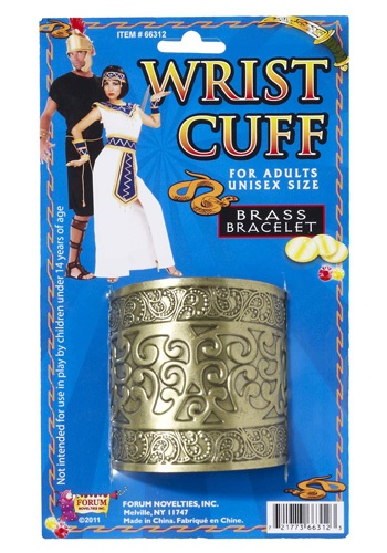 Cleopatra Wrist Cuffs By: Forum Novelties, Inc for the 2015 Costume season.