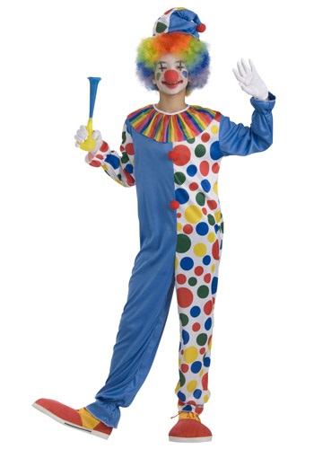 Click Here to buy Teen Big Top Clown Costume from HalloweenCostumes, USA Funds & Shipping