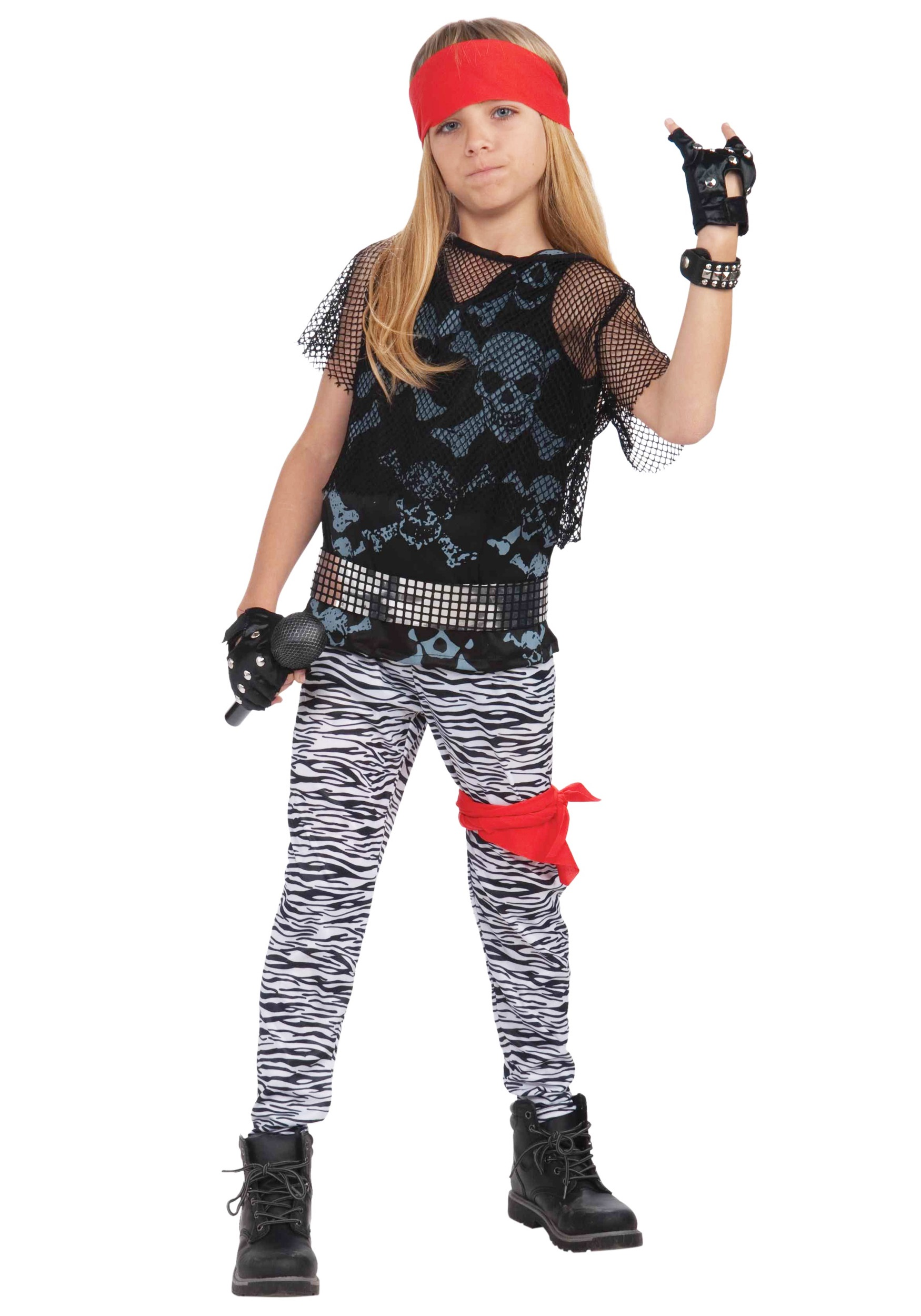sc 1 st  Halloween Costumes & 80s Rock Star Boy Costume