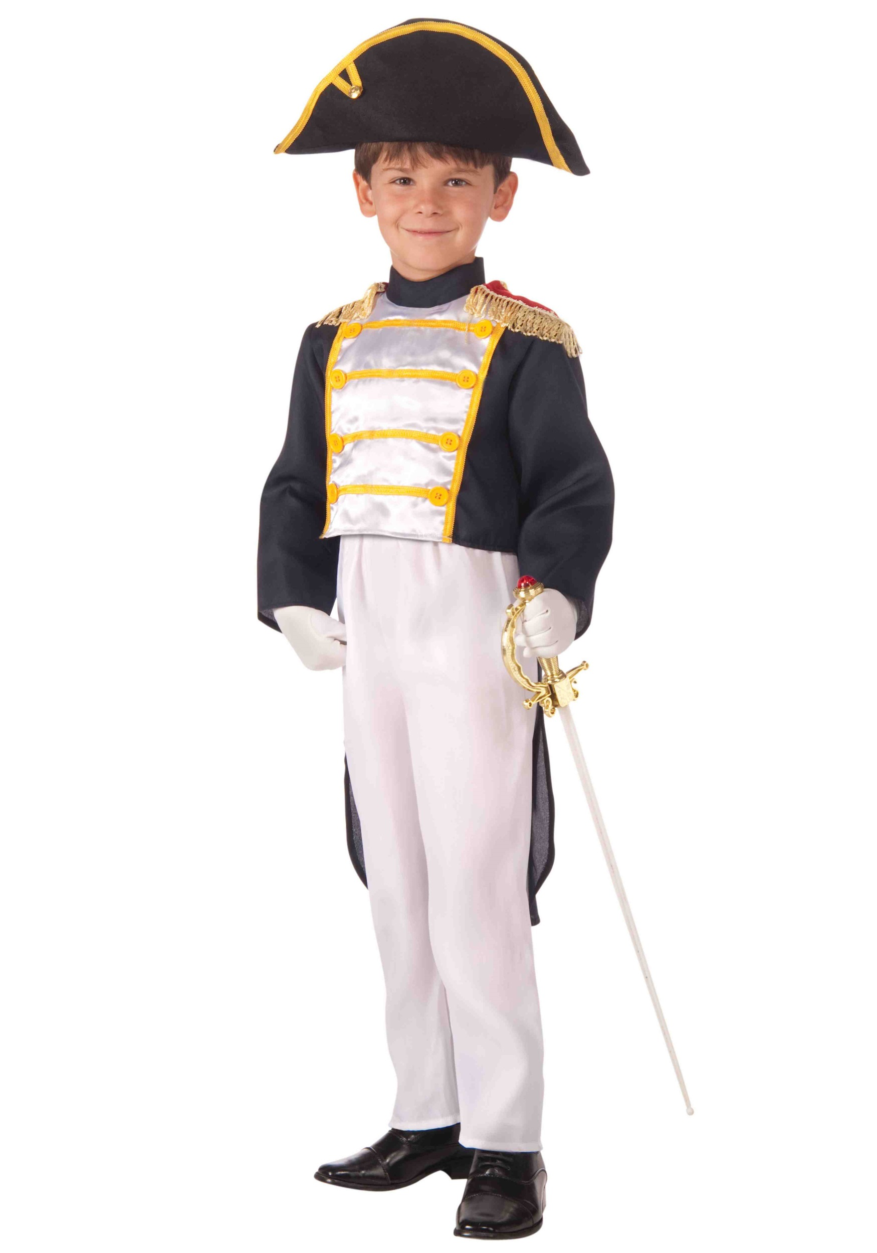 sc 1 st  Halloween Costumes & Child Colonial General Costume