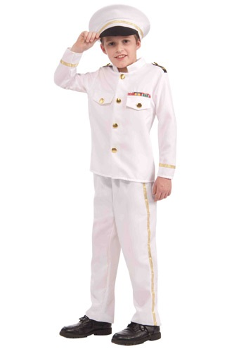 Click Here to buy Kids Navy Admiral Costume from HalloweenCostumes, USA Funds & Shipping