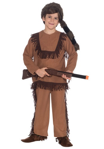 Click Here to buy Kids Davy Crockett Costume from HalloweenCostumes, CDN Funds
