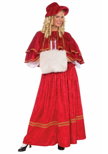 Click Here to buy Christmas Caroler Costume from HalloweenCostumes, USA Funds & Shipping