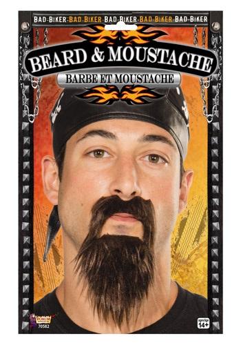 Biker Beard & Moustache