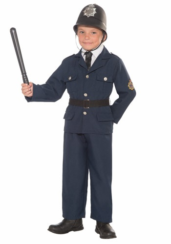 Child Keystone Cop Costume