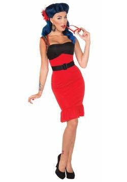 Scarlet Rose Rock-a-billy Dress