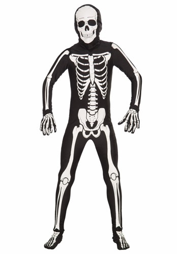 Click Here to buy Kids Bone Skin Suit from HalloweenCostumes, CDN Funds