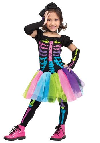 Toddler Funky Punky Bones Costume