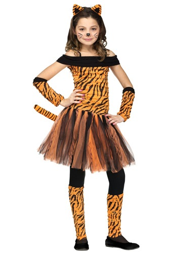 Girls Tigress Costume By: Fun World for the 2015 Costume season.