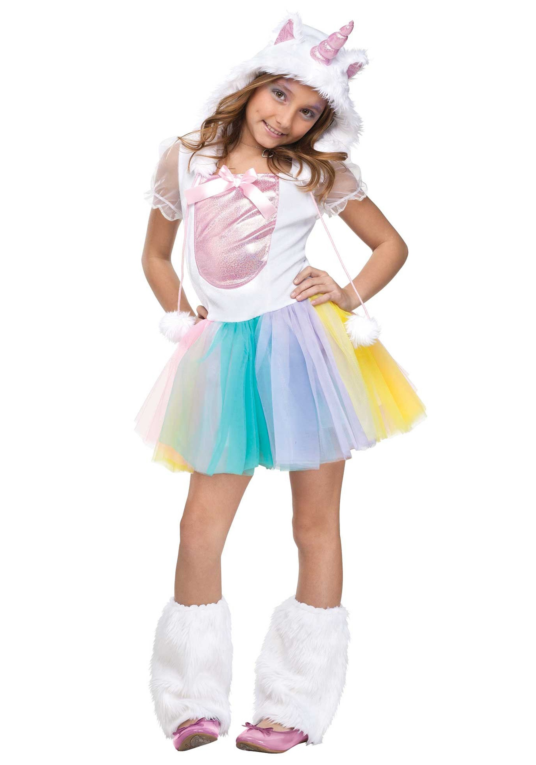 In addition to our selection of adult, toddler and girls unicorn costumes, you can also choose from accessories like horns, hats, headbands and socks and more to create your own unique look. No matter which unicorn costume you choose, you're sure to bring some sparkle to your next costume party.