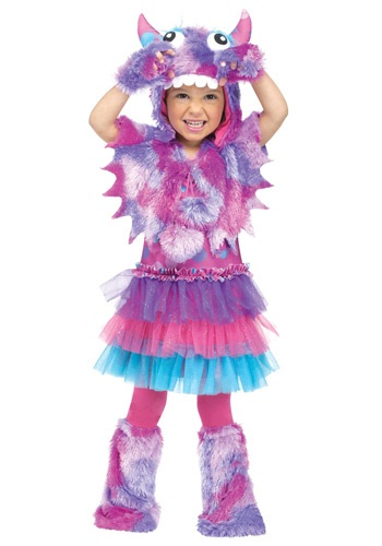 Click Here to buy Toddler Polka Dot Monster Costume from HalloweenCostumes, CDN Funds