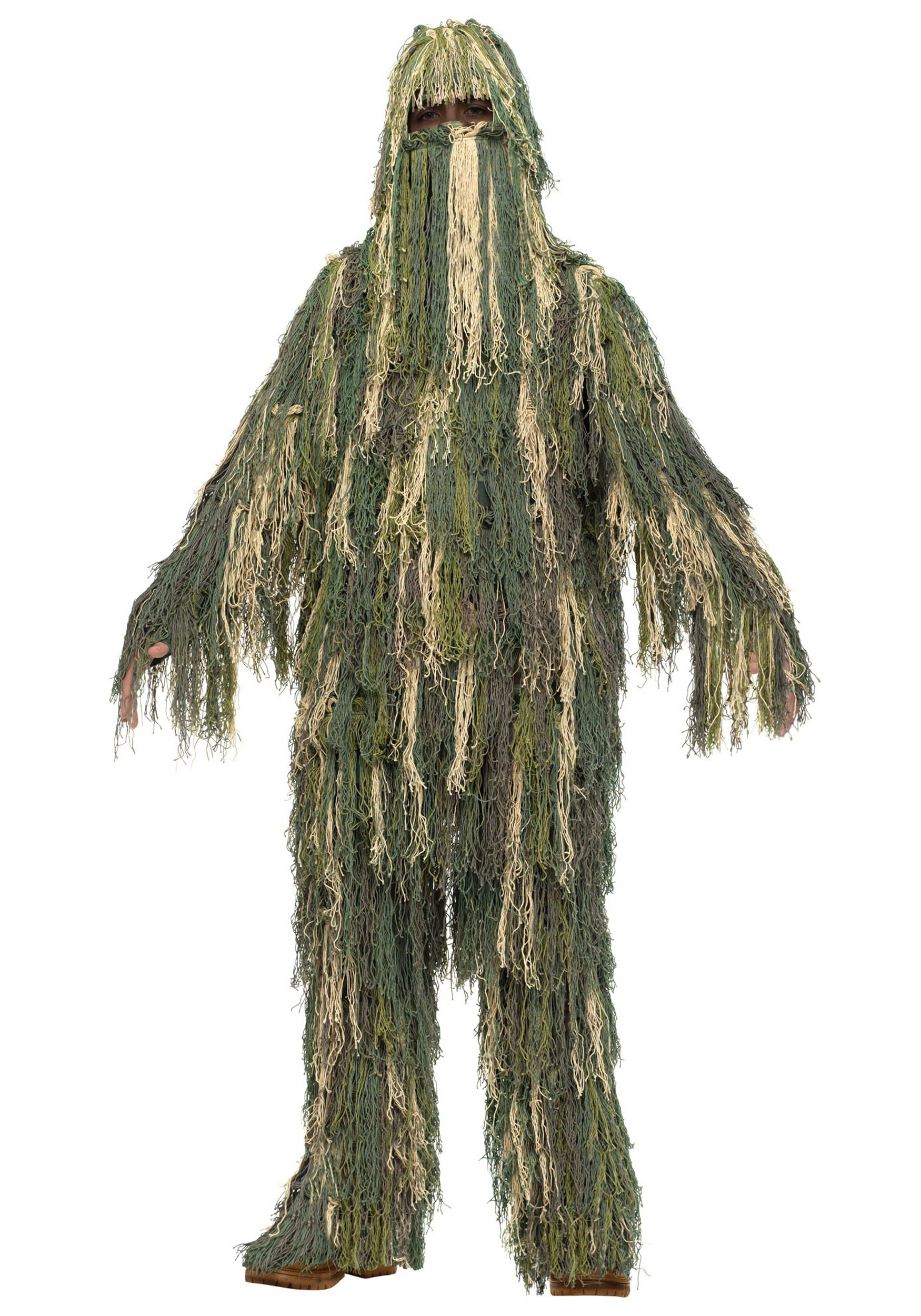 sc 1 st  Halloween Costumes & Child Ghillie Suit