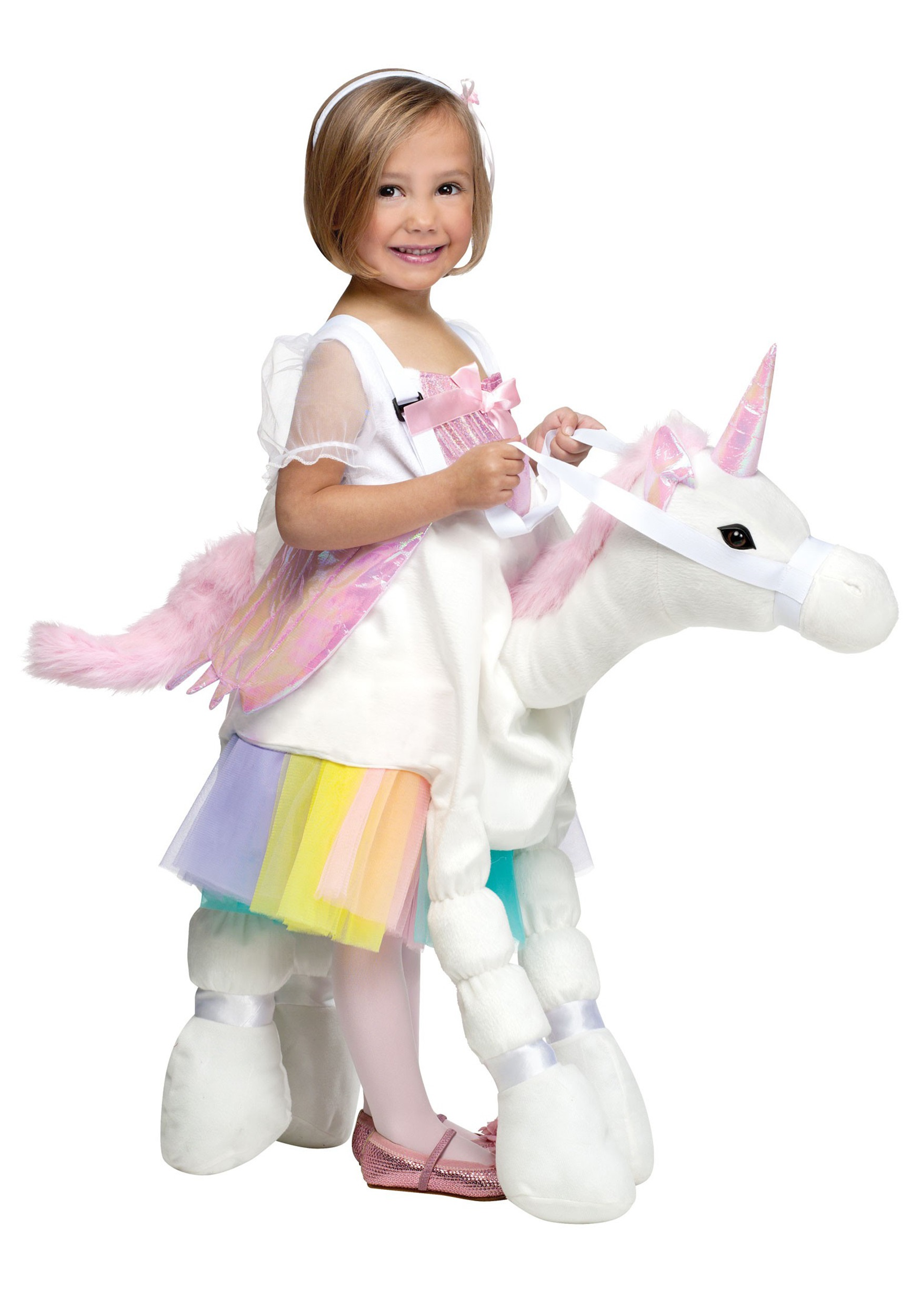 Ride A Unicorn Costume  sc 1 st  Halloween Costumes & Unicorn Halloween Costumes For Kids u0026 Adults - HallowenCostumes.com