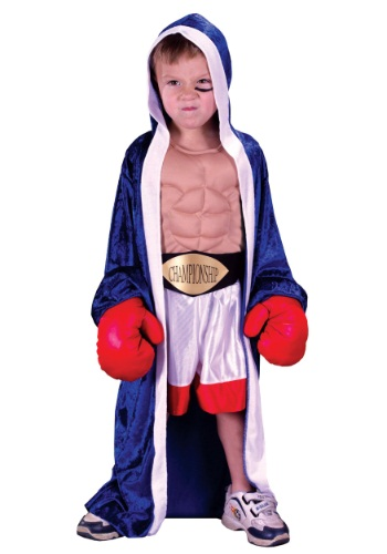 Child Lil Champ Boxer Costume