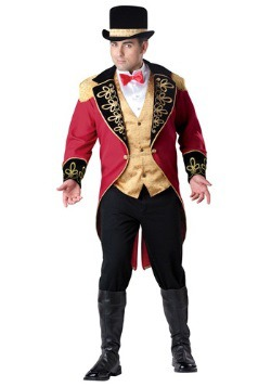 Plus Size Ring Master Costume
