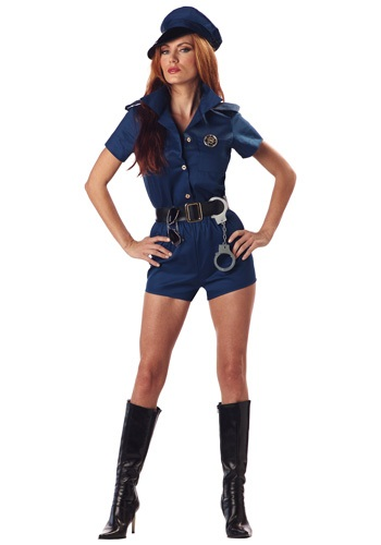 Women's Police Officer Costume