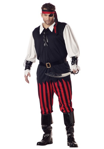 Plus Size Cutthroat Pirate Costume By: California Costume Collection for the 2015 Costume season.