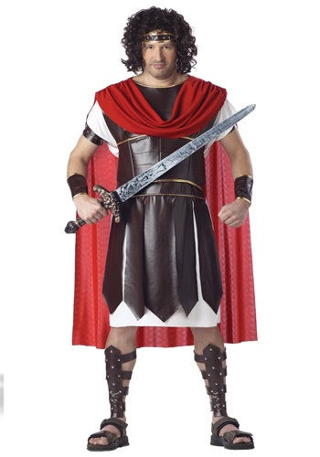 Plus Size Hercules Costume for Men