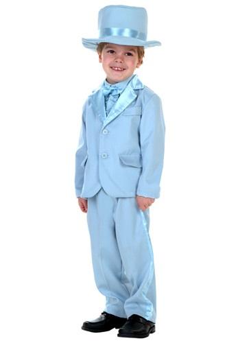 Toddler Blue Tuxedo Costume