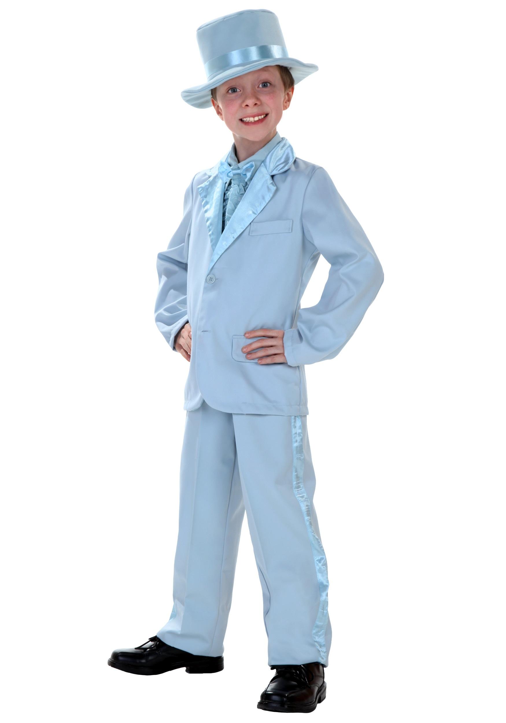 sc 1 st  Halloween Costumes & Child Blue Tuxedo