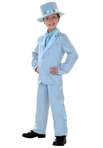 Child Blue Tuxedo Costume