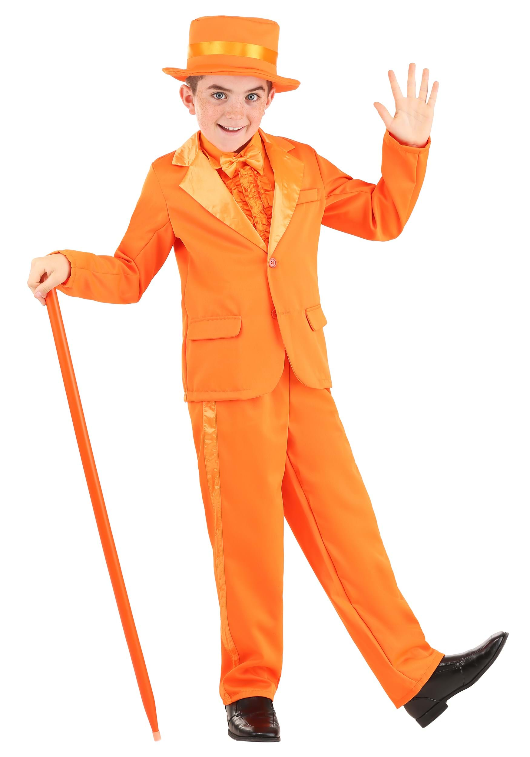 Get one of our Dumb and Dumber costumes and look handsome for your next special event. We carry several styles of blue and orange tuxedos for adults and kids as well as many coordinating accessories.