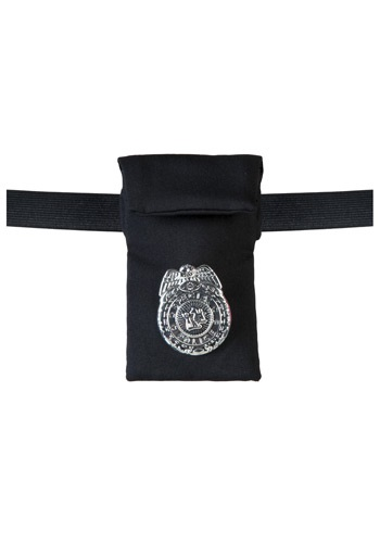 You have the right to remain hot looking while out in your cop costume so keep your valuables in this cop wrist wallet and you won't have to spoil your outfit with a mismatched handbag. #purse